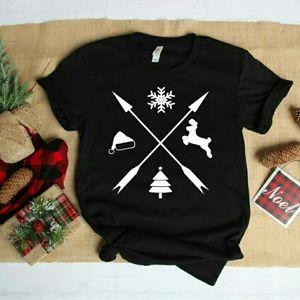 Christmas Shirt- Womens Christmas Shirt-Holiday